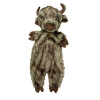 Ethical Pet Spot Furzz Plush Buffalo Toy for Dogs Small 13.5 inches