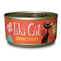 Tiki Cat Tahitian Grill Sardine Cutlets Cat Food 2.8oz 12 count