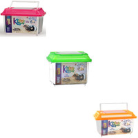 Lee's Rectangular Kritter Keeper Mini with Vented Lid Comes in Assorted Colors