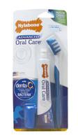 Nylabone Natural Complete Advanced Oral Care Natural Dog Dental Kit Fresh Breath