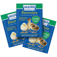 Sav-A-Chick Electrolyte and Vitamin Supplement for Poultry .25 ounces 3 Packets