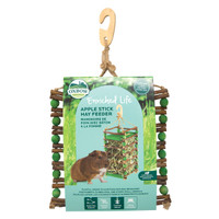 Oxbow Enriched Life Apple Stick Hay Feeder For Small Animals