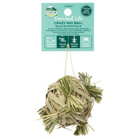 Oxbow Enriched Life Crazy Hay Ball for Small Animals
