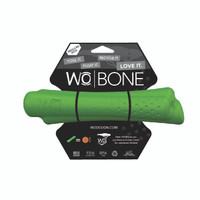 WO Bone Large Green Bone Toy for Med/Large Dogs
