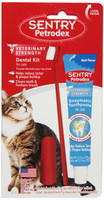 Petrodex Cat Dental Care Kit Malt Flavor Toothpaste Tartar Control