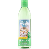 TropiClean Fresh Breath Oral Care Water Additive for Cats 16 ounce