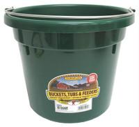 Miller Manufacturing Dura-Flex Plastic Utility Bucket Lightweight Green 10qt