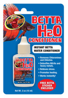 Zoo Med Labs Betta H20 Conditioner .5 oz Water Instantly Removes Chlorine