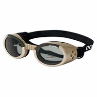 Doggles ILS Chrome/Smoke Small | Goggles/Sunglasses | Eye Protection for Dogs