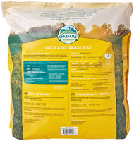 Oxbow Bene Terra HAY for Rabbits Guinea Pigs Chinchillas ORCHARD GRASS HAY 40 oz