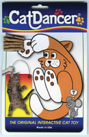Cat Dancer   Original Interactive Cat Toy   Wire and Cardboard Kitty Lure