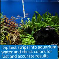 API 5-in-1 Test Strips Freshwater & Saltwater Aquarium Test Strips 100 Count