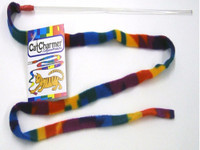Cat Dancer Charmer Wand | Colorful Interactive Teaser Toy for Kitties