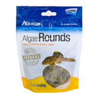Aqueon Algae Rounds Food for all Algea Eater Fish 3oz