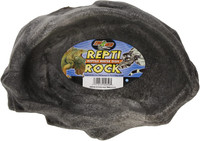 Zoo Med Repti Rock Water Dish for Reptiles X-Large Colors Vary