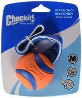 Chuckit ULTRA TUG Dog Fetch Toy 1 Pack Medium 2.5 inch fits Medium Launchers