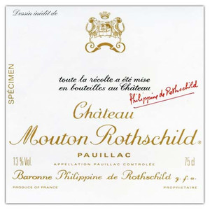 Chateau Mouton Rothschild 2016