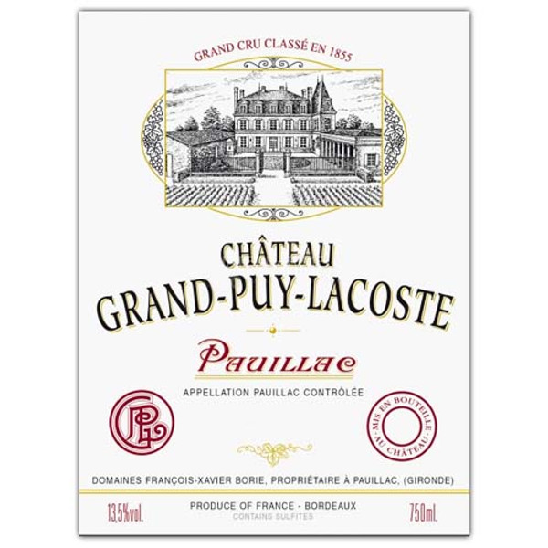 Chateau Grand-Puy-Lacoste 2016