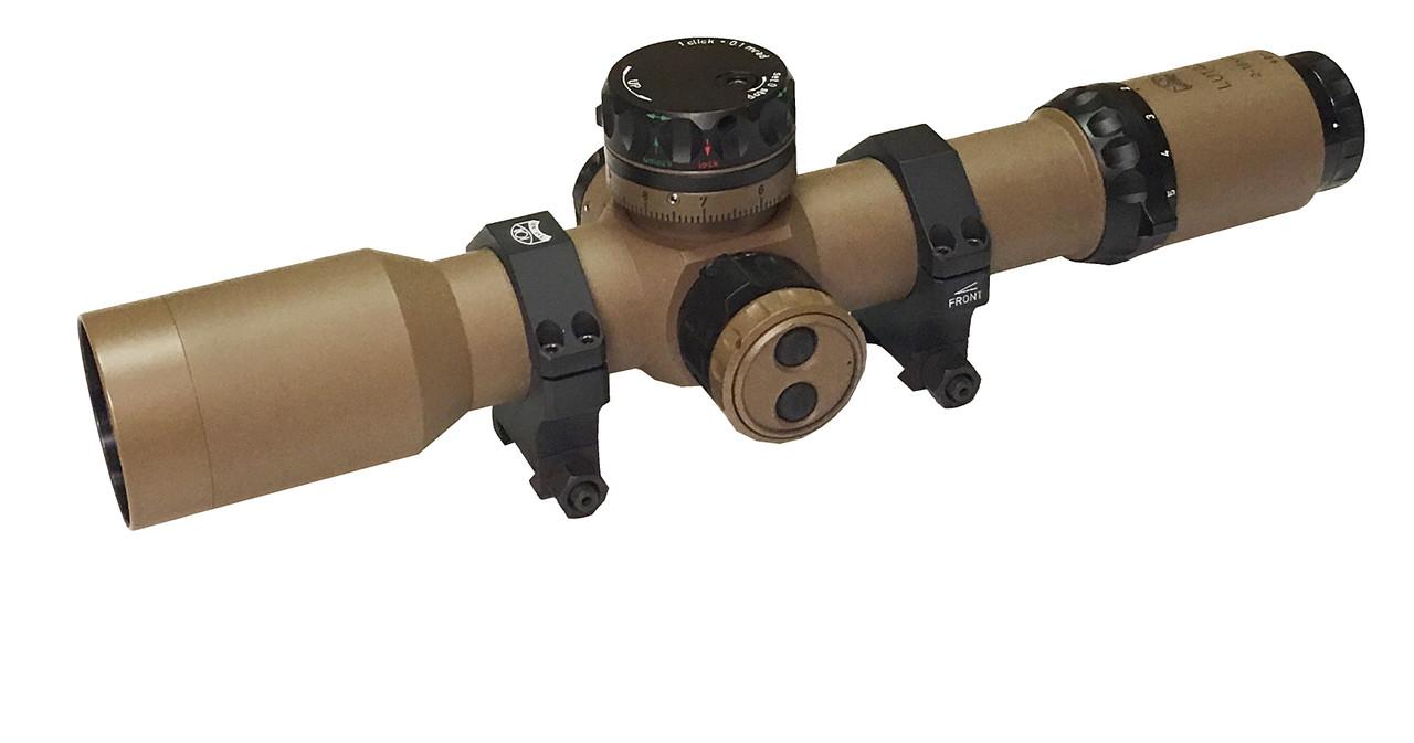 2-16x42 35mm FFP Tactical Mil/Mil Xtreme X1 illum, Side focus