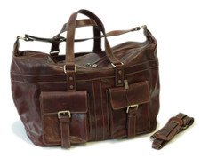a6e8b9488 Gorgeous Safari travel bag from Italy-100% finest italian leather