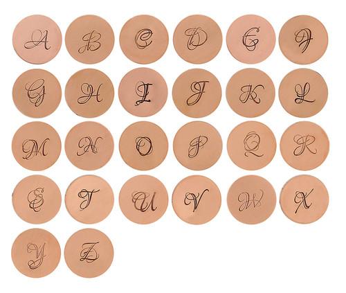 Lacerta Monogram Alphabet Letter Set