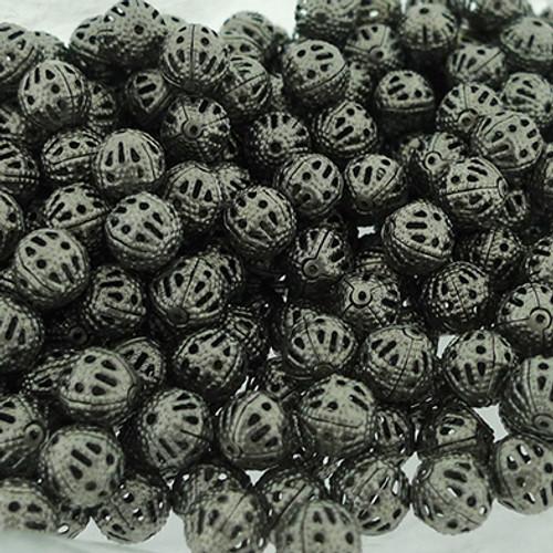 """Chalcedon"" Filigree Beads"