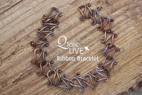 MM Ribbon Bracelet - QT Live