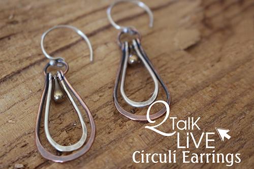 MM Circuli Earrings - QT Live