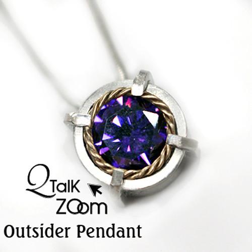Outsider Pendant - QT Zoom