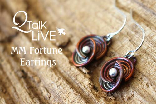 MM Fortune Earrings - QT Live