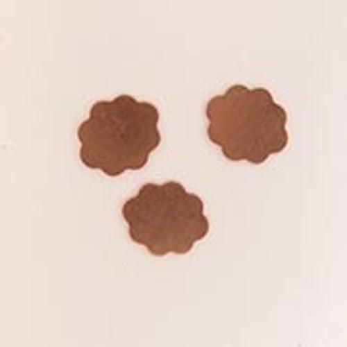 Copper Metal Flower - 12mm