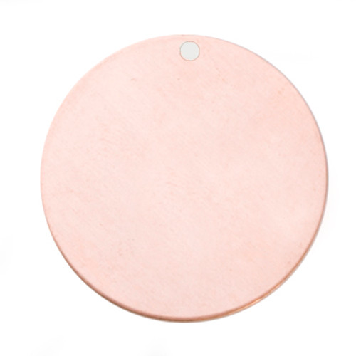 13 mm Copper Blank Discs with Hole