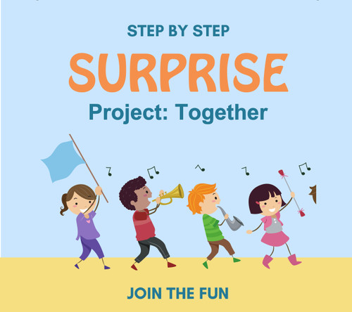 Step by Step Surprise Project 1: Together - QT LIVE