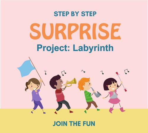 Step by Step Surprise Project 6: Labyrinth - QT LIVE