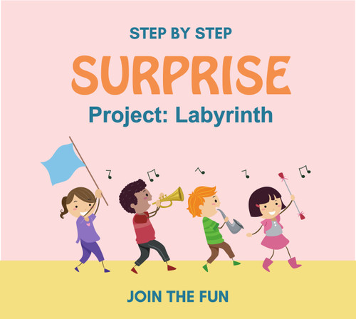 Step by Step Surprise Project 6: Labyrinth - QT LIVE
