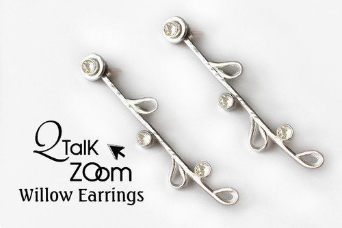 Willow Earrings  & Pendant Set- QT Zoom