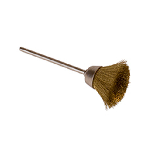 "1/2"" Cup Brass Bristle Brush"