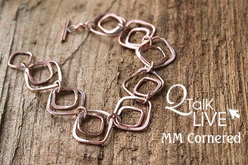 MM Cornered Bracelet - QT Live