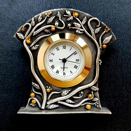 17-2V Botanical Clock (Metal Clay)