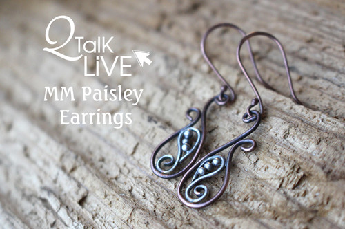 MM Paisley Earrings - QT Live