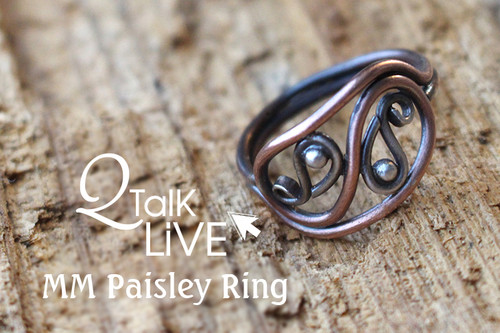 MM Paisley Ring - QT Live