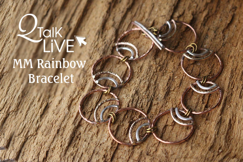 MM Rainbow Bracelet - QT Live