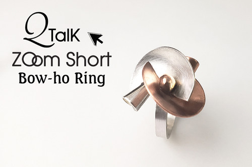 Bow-ho Ring  - QT Zoom Short
