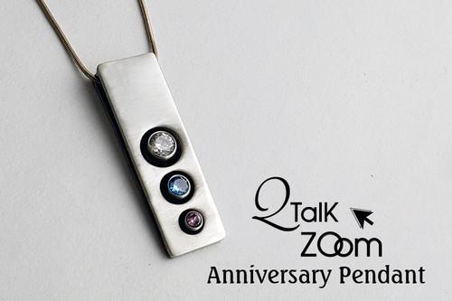 Anniversary Pendant - QT Zoom Short