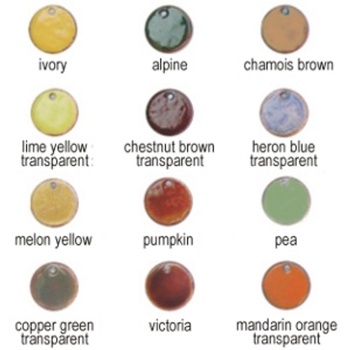 Earth Tone Enamel Color Kit