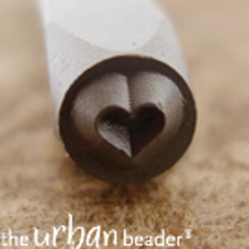 3mm Heart Stamp