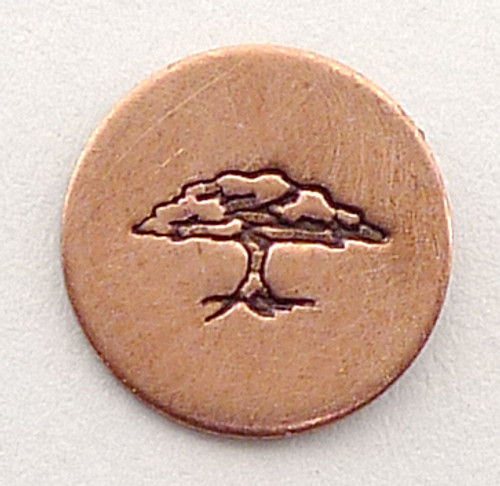 Tree of Life Stamp Sample