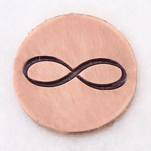 Infinity Symbol Stamp Sample