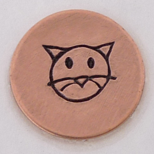 Cat Face Stamp Sample