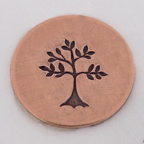 Spring Tree Stamp Sample